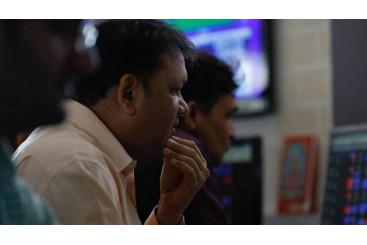 Khaleej Times - Sensex ends 335 points lower as markets extend losses