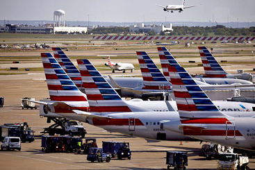American Airlines' share price: Earnings...