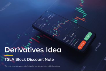 Derivatives Idea - TSLA Stock Discount Note