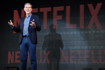 Netflix's share price hits the pause button