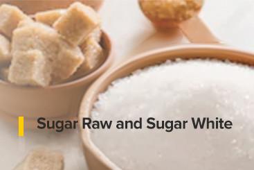 Sugar Raw and Sugar White