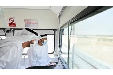 Khaleej Times - Abu Dhabi-Dubai train service test run