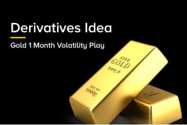 Derivatives Idea - Gold 1 Month Volatility Play