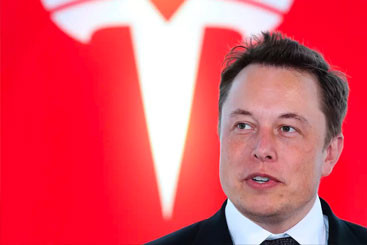 Tesla's share price on track for...