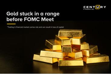 Gold stuck in a range  before FOMC Meet