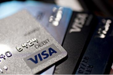 What's happened to Visa's share price...