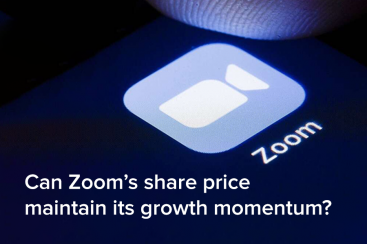 Can Zoom's share price maintain its...