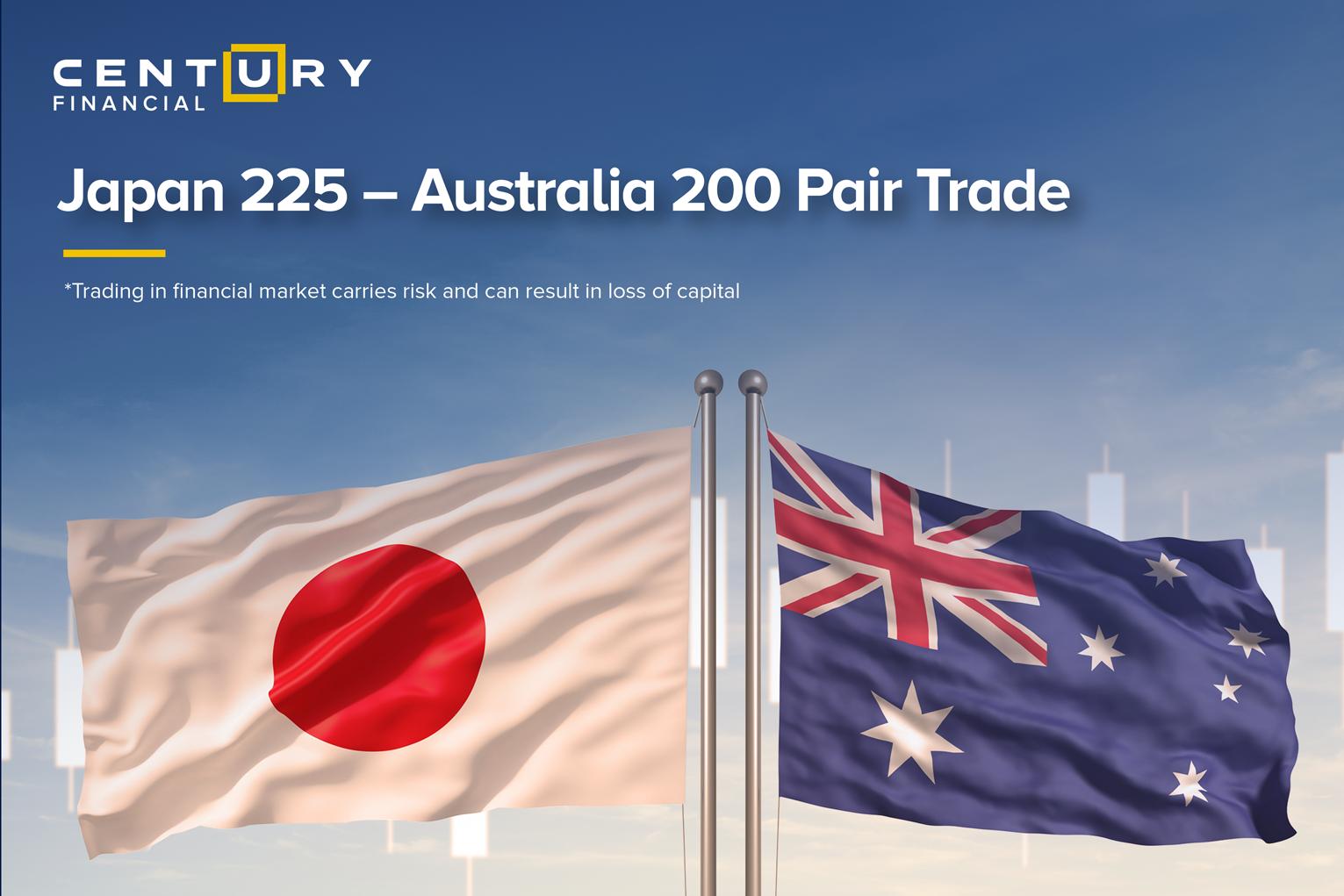 Japan 225 – Australia 200 Pair Trade