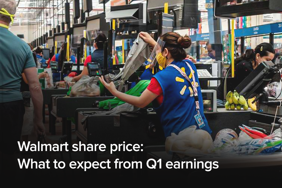 Walmart share price: What to expect from Q1...